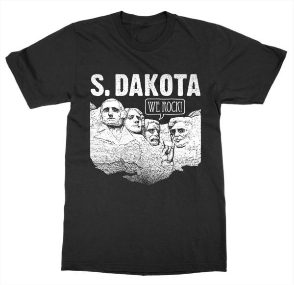 2019 Mode Style été Dakota du Sud Mont Rushmore T-shirt États-Unis d'Amérique Patriot Capital Tee Shirt