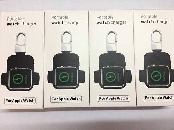 External Battery Pack QI Wireless Charger for Apple Watch iWatch 1 2 3 4 Wireless Charger Power Bank 950mah Portable Outdoor