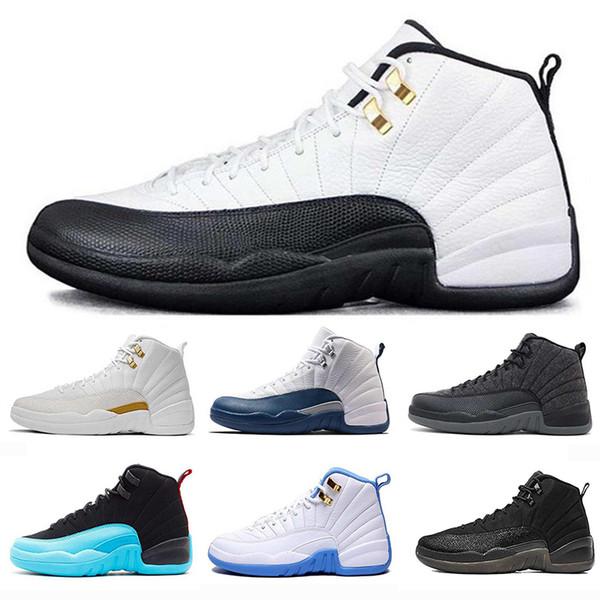 12s 12 XII 에어 맨 농구 신발 레트로 여성 운동 신발 최고 품질의 디자이너 럭셔리 스니커즈 브랜드 트레이너 스포츠 Maxes 신발