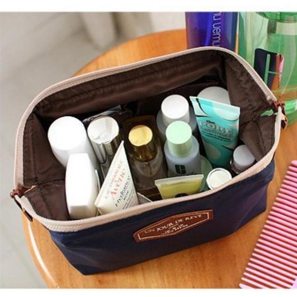 Женская сумка-органайзер для женщин Женская дорожная сумка-футляр для хранения Сумка-кошелек Lady Makeup Cosmetic Bag Zipper Female Tote Portable