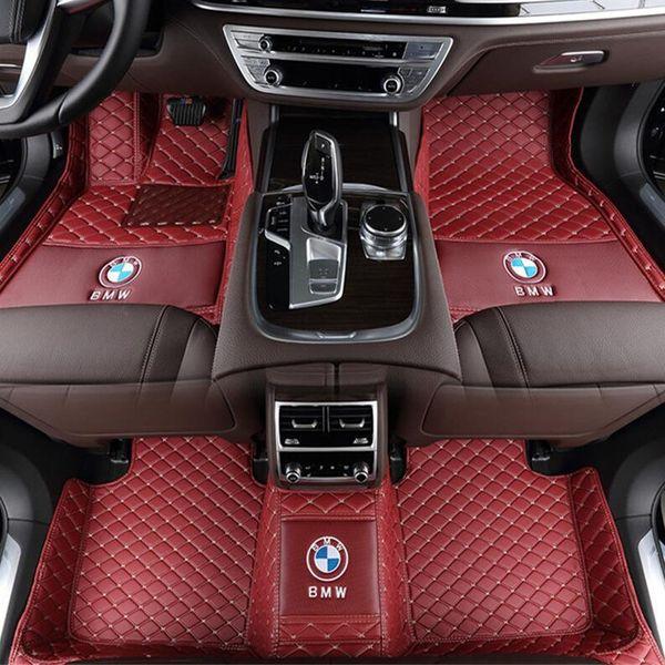 Adequado para BMW 1 2 3 4 5 6 7 Série X1 X2 X3 X4 X5 X6 Z4 M3 M4 X5M Todos Car Ambientalmente Amigável Interior Insípido e Non-toxic Mat