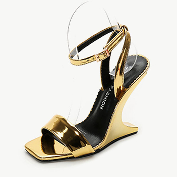 Women's Wedge Sandals The Top Platform Summer Ankle Tie Sandals High Heels open Toe fashion Sandals