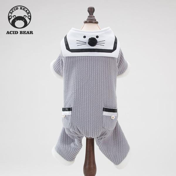 New original de quatro patas roupas para animais de estimação Teddy Bomei filhote de cachorro agasalho outono e roupas de inverno inverno Japão Coréia Do Sul