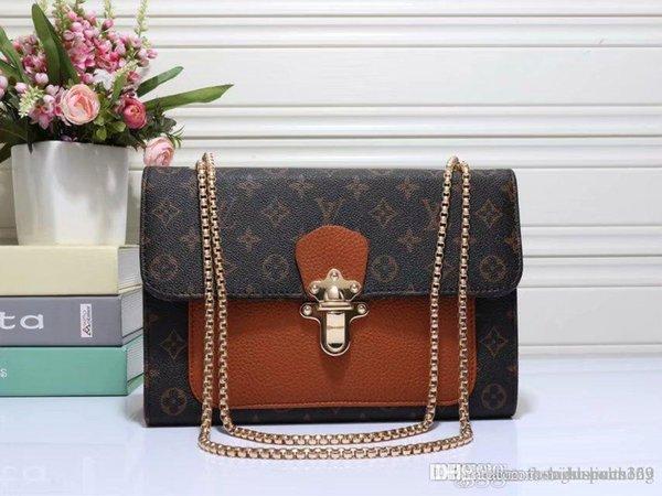 2019 Nouveau design en cuir de serpent sacs à main mode embossé femmes chaîne sac sac à bandoulière Brand Design Messenger Bag sac a principale