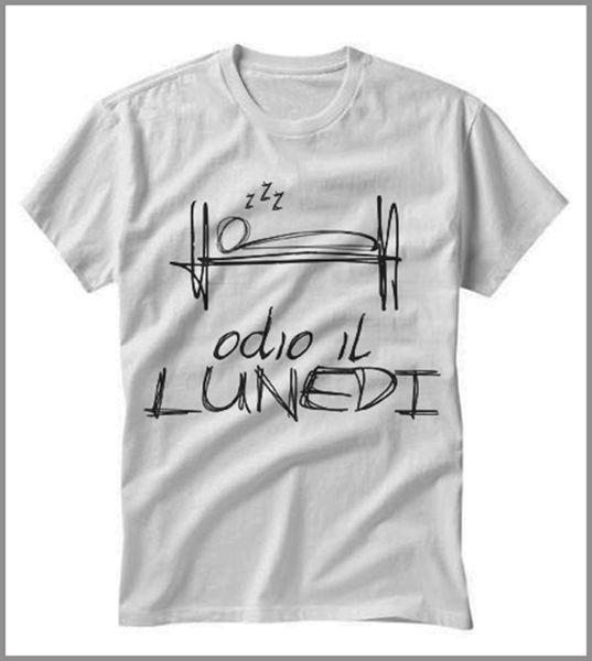 Футболка UOMO DONNA ODIO IL LUNEDI 'GEN0295 футболка с капюшоном в стиле хип-хоп