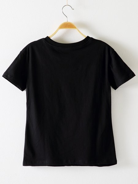 Fahsion design ladies cotton short-sleeved T-shirt womens clothes streetwear new style summer tops women's clothing woman t shirt shirts2