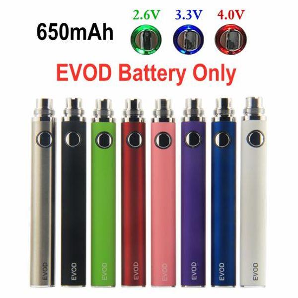 EVOD VV 650mAh Battery Only