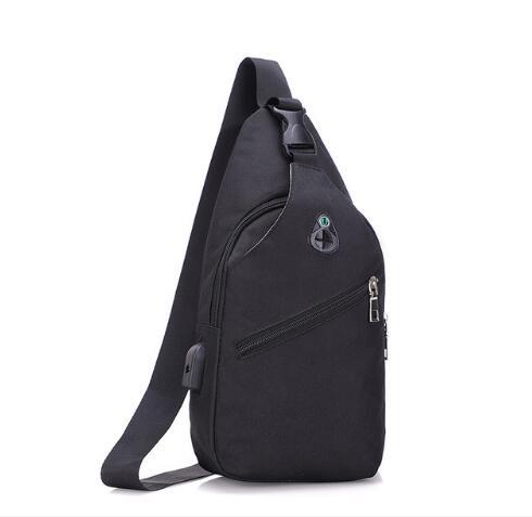 Explosion models simple men's chest bag Europe and the United States tide shoulder bag Messenger sports youth bag Free shipping
