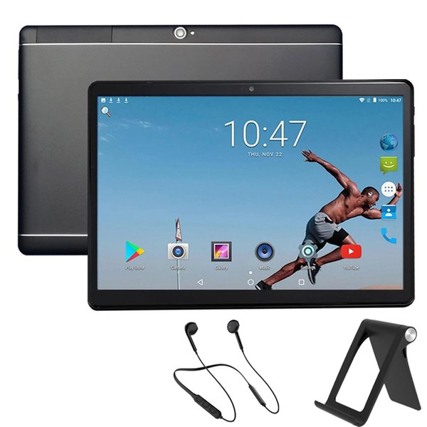 Yüksek kaliteli 10,1 inç MTK6582 kapasitif dokunmatik ekran çift SIM 3G Tablet PC Android 8.1 4GB IPS