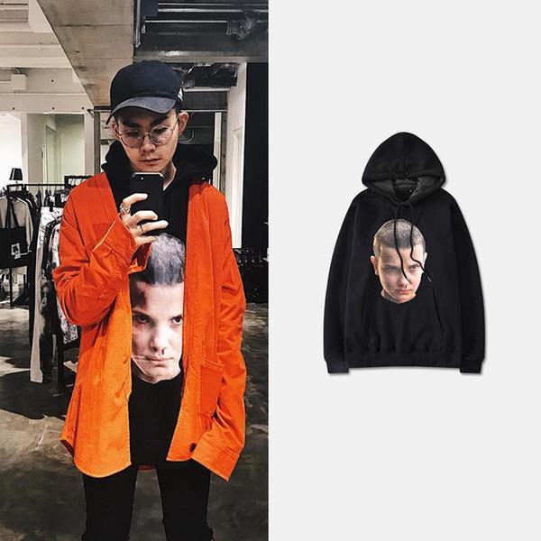 New Ih nom uh nit Hoodies 19ss Street Sport Mens Womens Designer Hoodies Kanye West Loose Fit Pullover Sweatshirt