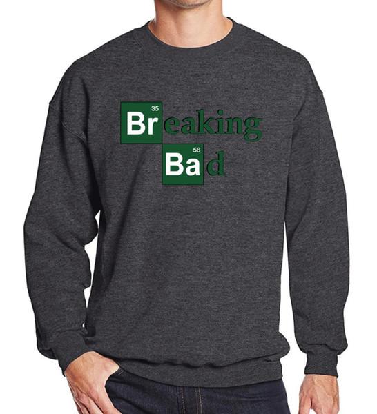 Breaking Bad impreso 2019 primavera invierno estrella viste moda hombre ropa deportiva sudaderas con capucha hombres sudadera harajuku Crossfit con capucha