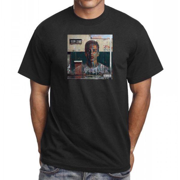 Logic Under Pressure T-shirt Hip Hop Rap Merch Ratt Pack Tee Tout le monde Nouveau Funny livraison gratuite Unisexe Casual