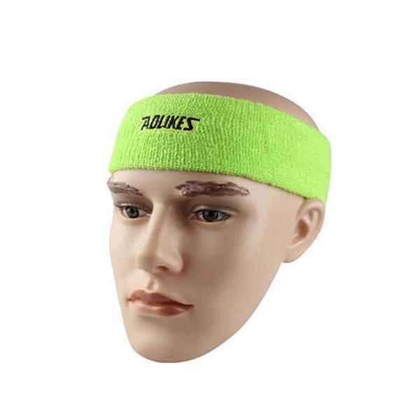 AOLIKES High Quality Cotton Head Sweatband Yoga Sports Safety Hair Bands A