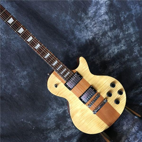 2019 suneye гитары Горячих продаж Китай высокого качества OEM Электрогитара Burlywood Цвет гитара Реальных фото Бесплатная доставка