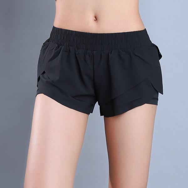 Eshtanga sports shorts frauen Outdoor Sport Laufen Kurze Sommer Yogaes Fitnessstudio Elastische Wiast Short Größe XS-XL # 180772