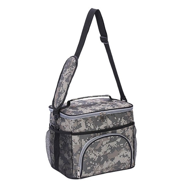 1PCS Portable Outdoor Travel Camping Picnic Aluminum Foil Storage Lunch Cool Bag Kit Thermal Insulated Tote Box