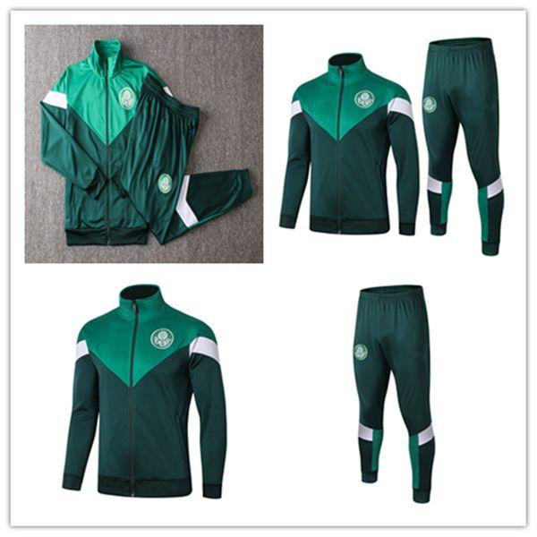 G.JESUS 19 20 veste Palmeiras Ensembles de combinaison d'entraînement MAILLOT SOCCER DUDO R. GOULART Palmeiras ALLIONE CLEITON XAVIER 2019 2020 football CHEMISE