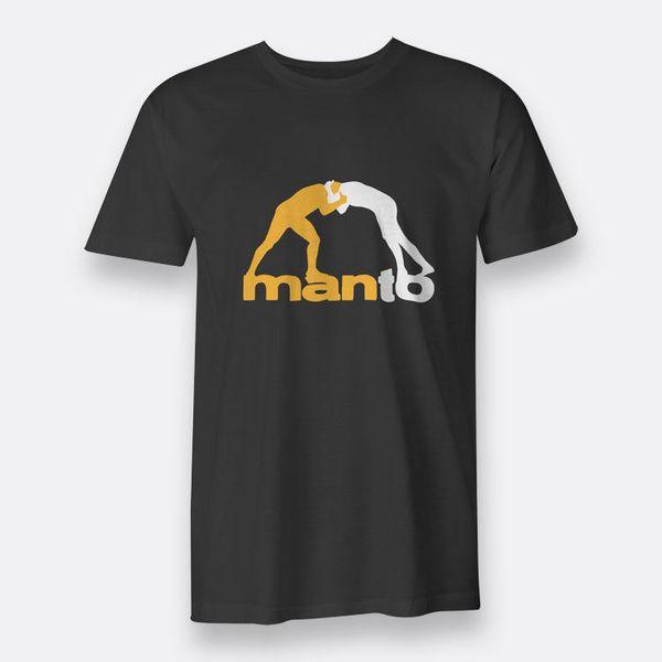 Manto Gi BJJ Jiu Jitsu Tees Nero S-3XL T-shirt da uomo