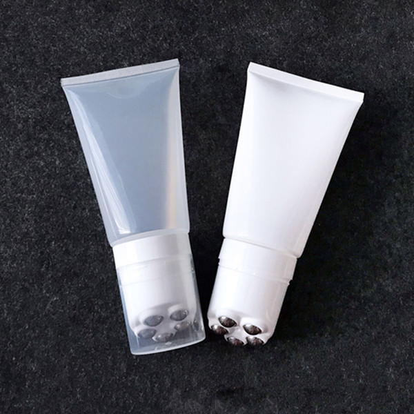 150ml Empty Eye Cream roll ball Tube, Cosmetic Soft Hose Containers,Squeeze Skin Care Cream Soft Tube F2501