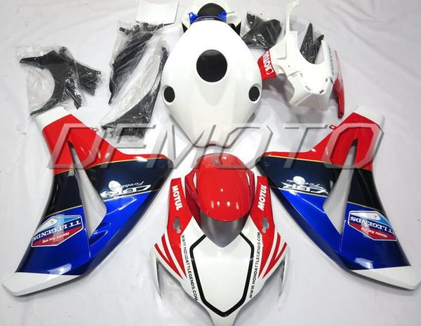 New Injestion Mold ABS motorcycle Full Fairings Kits+Tank cover Fit For HONDA CBR1000RR 08 09 10 11 2008 2009 2010 2011 body white red blue
