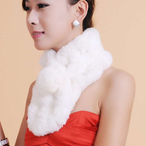 Écharpe en fourrure pour femme, accessoires de mode, écharpe pour femme, fourrure chaude en hiver Livraison gratuite