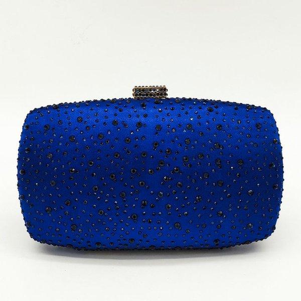 Blue Crystal Tasche