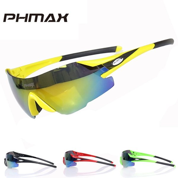 PHMAX Ultralight TR90 Frame 23g Cycling Sun Glasses Mountain Bike Sunglasses Outdoor Bicycle Eyewear Cycling Glasses #214554