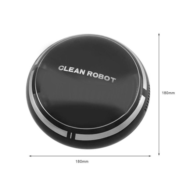 household small mini vacuum cleaner robot usb rechargeable smart sweeping robot slim sweep suction machine