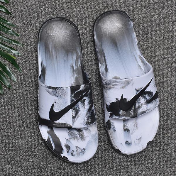 Zapatillas de verano transpirables de diseñador con cojín de aire, marca de alta calidad, marcas, sandalias suaves S1ZE 40-45 con caja