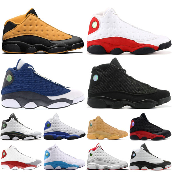 2019 Top 13 13s Men Basketball Shoes Chicago Bred He Got Game History of Flight Wheat Designer Shoes Athletics Sport Sneakers