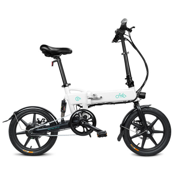 best selling Bike Folding Electric Light Bicycle Electrical Foldable Aluminum Alloy Moped E-bike 250W New Fiido D2 7.8Ah EU Free Shipping