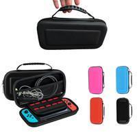 Hotsell móveis que transportam Carry Protect viagem dura EVA Bag Game Console bolsa de protecção Capa Para Nintendo Chave Shell Box Mudar