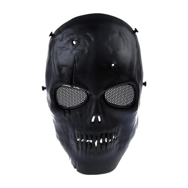 Skull Skeleton Cycling Airsoft Mask Skull Mascara protectora completa para Halloween Party Supplies shiping libre