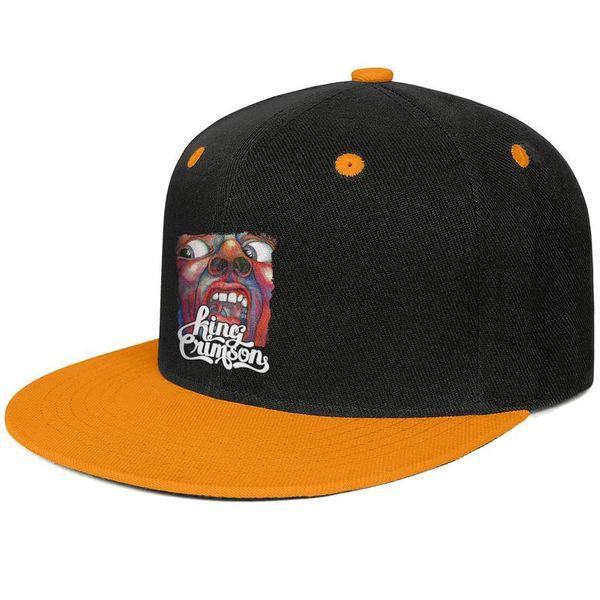 En la corte del rey carmesí Gorras de hip-hop de diseño Sombrero de sol de ala plana con snapback ajustable único