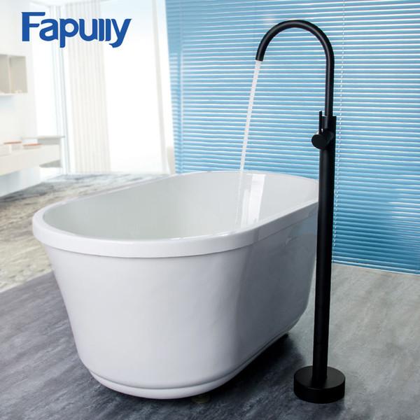 2020 Wholesale Bathroom Bath Tub Faucet Shower Floor Mounted Tub