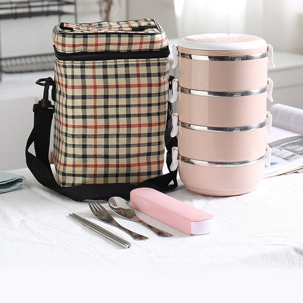 Pink 4 Layer And Bag