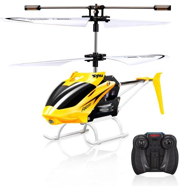 Syma W25 RC Helicopter 2 CH 2 canaux Mini RC Drone avec gyro crash résistant RC jouets pour garçon enfants cadeau