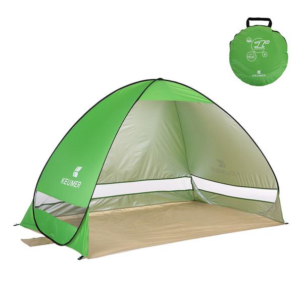 200 * 120 * 130 centimetri Beach tenda automatica Protezione UV tenda Pop Up anti UV Shelter pesca di campeggio facendo un'escursione il picnic di campeggio tende