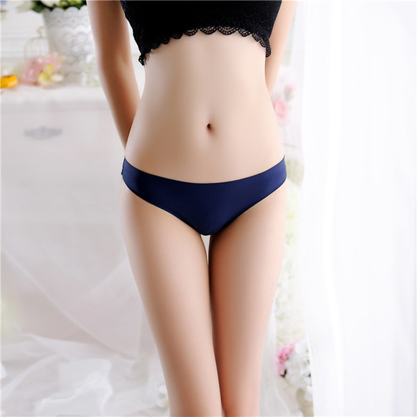 best selling Sexy Seamless Underwear Ice Silk Briefs Flower Rose Hip Lifting Underwear G String Thong Women Fashon Panty Drop Shippng