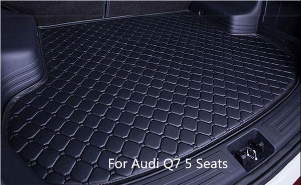 Car Rear Cargo Boot Trunk liner Mat Pad for Audi Q7 5 Seats 2006-2015
