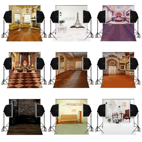 custom 5X7FT empire palace decorative vinyl photography backdrop photo background digital music studio prop comunion decoracion for party