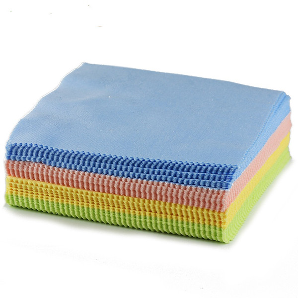 10pcs Cleaner Clean Glasses Lens Cloth Wipes For Sunglasses Microfiber Eyeglass Cleaning Cloth For Camera Computer Women's 13* 13cm