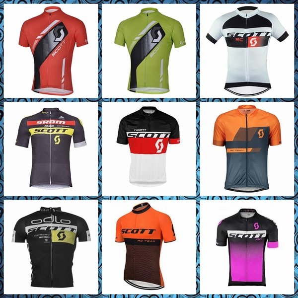 SCOTT Cycling Short Sleeves jersey hombre Comfortable ciclismo maillot pro Racing Clothes trend hot sale 52405