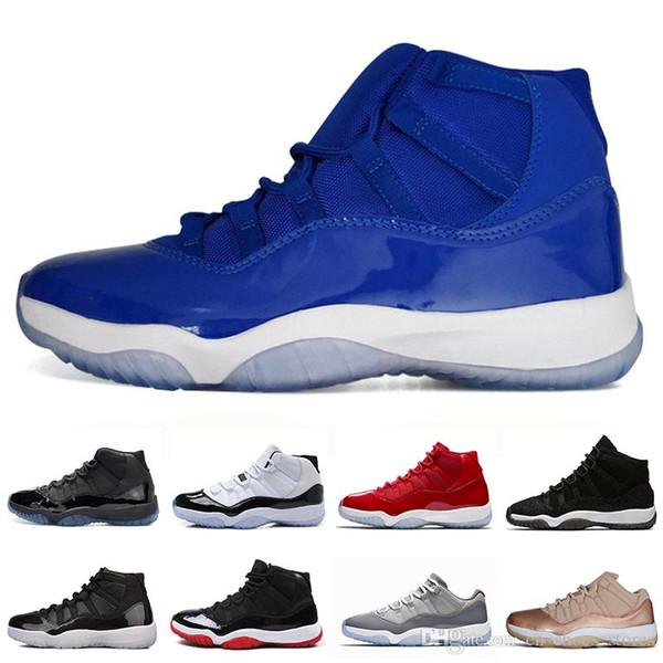 11 11s Concord 45 23 Bianco Rosso Mens scarpe da basket Platinum tinta Midnight Navy Palestra Red allevati Cap e mens abito Sport Sneakers formatori