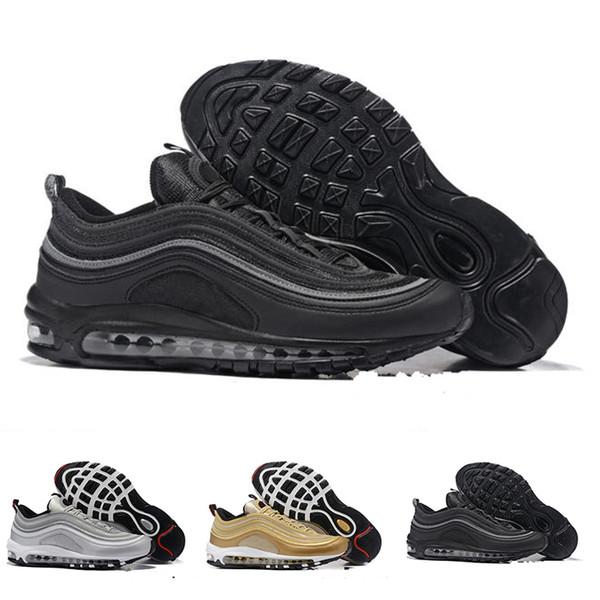 Nike air max 97 2018 Nuove scarpe KPU Scarpe da corsa in plastica a buon mercato uomini di formazione all'aperto di alta qualità Mens scarpe da ginnastica Zapatos scarpe da