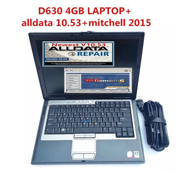 2019 alldata10.53 auto repair soft-ware and mitchell 2015 soft-ware 1TB installed in laptop for D630 With 4gb ready to work