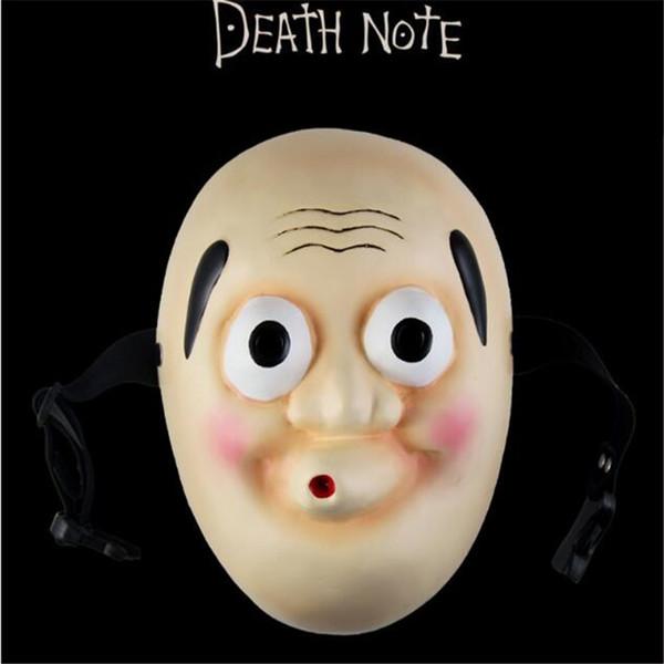 2019 Japanese Anime Figure Death Note Resin Mask Full Face Cosplay Hyottoko Ryuk Manga Omen Party Masks Halloween Christmas Pro From Abby522 30 64