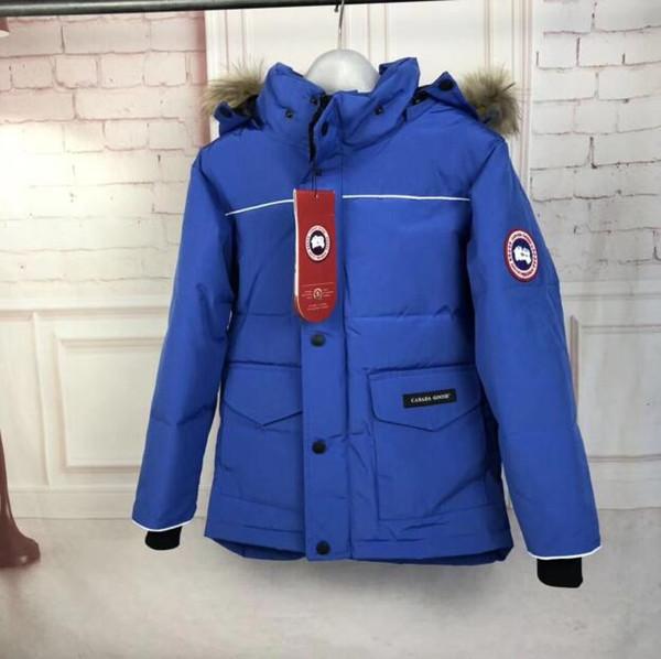 Vente chaude enfants bas manteau Parkas vestes d'hiver veste garçon mode enfants épais manteaux pour garçon 2019 enfants coupe-vent vestes