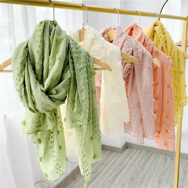 best selling Women Autumn Winter Flower Scarf Pashmina Girls Warm Linen and Cotton Scarves Fashion Female Candy Shawls Gifts