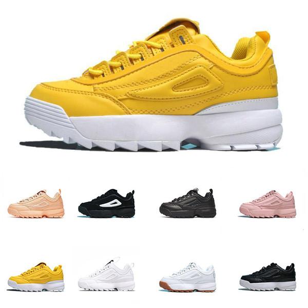 Fila Disruptor 2 Yıkıcılar 2 Gündelik Moda ayakkabı Kadın Yaz Plaj Ayakkabıları Tanrıça için Trendy Spor Yoga Ayakkabı